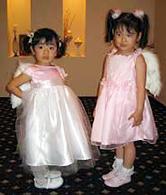 乃愛ちゃん(3歳)&千聖ちゃん(4歳)