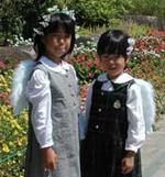 彩ちゃん(8歳)&舞ちゃん(7歳)