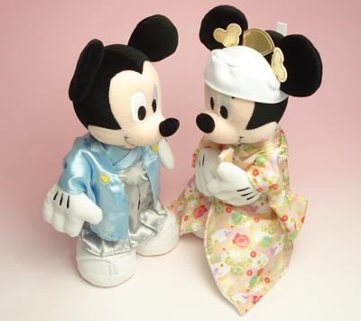 結婚式のウェルカムドールをお探しの方へ!キャラクターの衣装もかわいいものばかり!