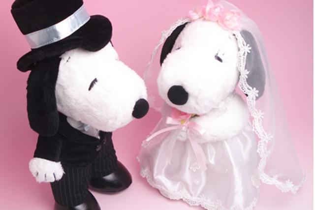 結婚式の雰囲気づくりに最適なキャラクターもののウェルカムドール
